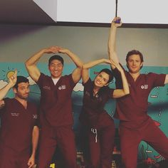 They seem like they have fun lol #ChicagoMed