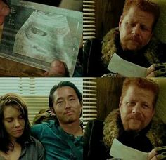 The Walking Dead (AMC): Maggie,Glenn and Abraham *and my Broken Heart*