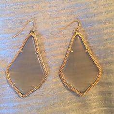 Kendra Scott earrings slate Kendra Scott Jewelry Earrings