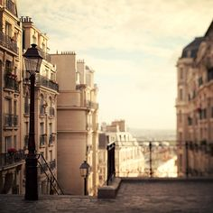 Paris Photography Montmartre Sunrise by EyePoetryPhotography