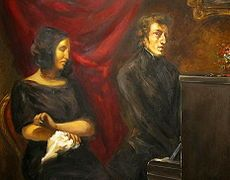 The Portrait of Frédéric Chopin and George Sand was an 1838 unfinished oil-on-canvas painting by French artist Eugène Delacroix. George Sand, William Turner, Romantic Composers, Eugène Delacroix, Romanticism Artists, 10 Interesting Facts, Shady Lady, Hermann Hesse, Home