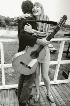 Joni Mitchell & Leonard Cohen