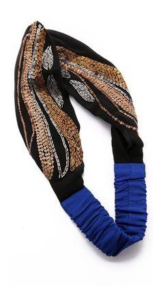 Imagen 3 de diadema turbante flores de zara hair for Turbantes pelo zara