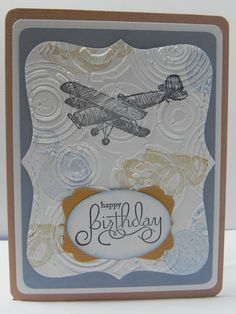 Dad Airplane Birthday Card by HandCraftedBy2 on Etsy, $3.50