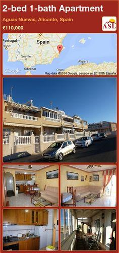 2-bed 1-bath Apartment in Aguas Nuevas, Alicante, Spain ►€110,000 #PropertyForSaleInSpain