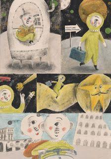 alessandra vitelli illustratrice: Vacances Romaines
