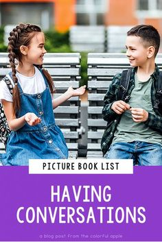 Are your students struggling with talking too much? Or feeling shy? Picture books can help! This list of picture books will help students learn the important Social Emotional Learning skill of having conversations. These are great read alouds for teachers to use in their elementary classroom! (SEL, second grade, first grade, third grade, 1st, 2nd, kids, children)