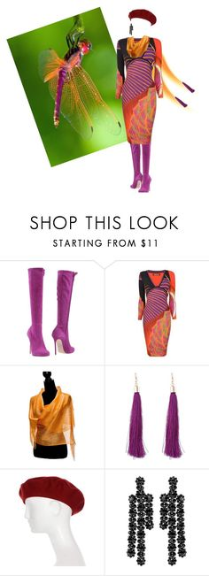 """""""Sunset Dreams"""" by quicherz on Polyvore featuring Dsquared2, Gucci, Simone Rocha and dragonfly"""