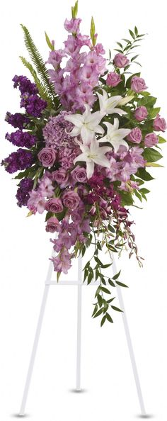 Order Sacred Garden Spray - from RonAnn's Floral Shoppe, your local Maquoketa florist. For fresh and fast flower delivery throughout Maquoketa, IA area.