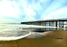 Day after Storm Ventura Pier is OK! Image by Cheryl Brown