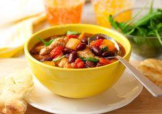 Летнее рагу из курицы и овощей