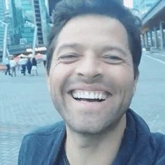 Misha Collins pure sunshine