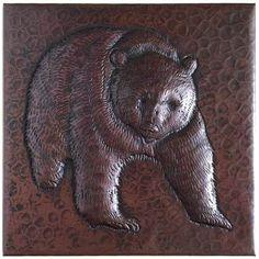 Www.coppersinksdirect.com   Copper Tile (TL229) Foliage Medallion Design,  $20.00 (http://coppersinksdirect.com/copper Tile Tl229 Foliage Medallion U2026