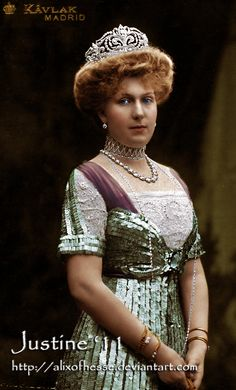 Queen Victoria Eugenia(Ena) of Spain.