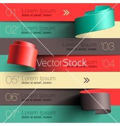 Modern design infographic template vector - by ikopylov on VectorStock®