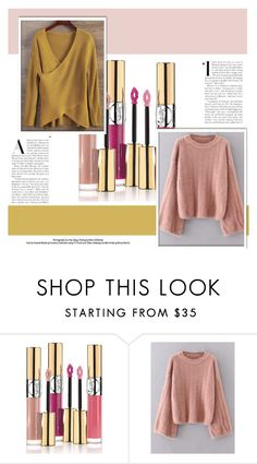 """""""Sweaters"""" by alinnas ❤ liked on Polyvore featuring Yves Saint Laurent"""