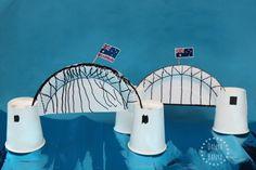 Two harbour bridges