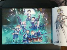 Xenoblade Chronicles X Special Edition inside artbook