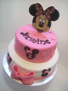 Minnie Mouse Cake No2 Mouse cake Cake and Cake designs