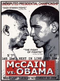 McCain vs Obama by Mr. Brainwash on Widewalls. Brainwash and auction records with prices and details of each sale! Obama 2008, Mr Brainwash, High Stakes, Street Art, Celebrity, Artwork, Photos, Work Of Art, Pictures