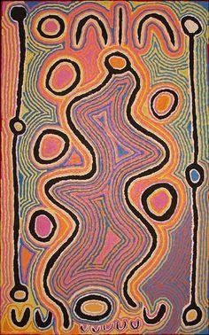 Judy Watson Napangardi ~ Mina Mina Dreaming, 2004