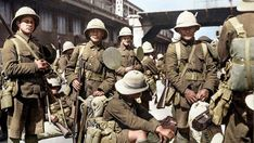 Indigenous New Zealanders, of the Maori Pioneer Battalion, prepare to deploy to the Middle Eastern Theatre, WWI.