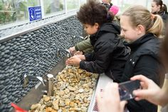 Washing your hands properly is very important after visiting a wastewater treatment plant