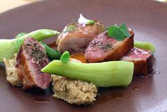 Sous vide duck leg and pan roasted duck breast @ commis