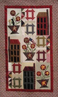 Handmaiden Designs - Original Quilt patterns, Stitchery Patterns and Gifts.