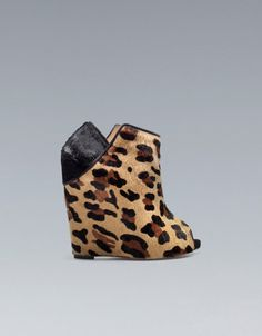 LEOPARD - Shoes from ZARA.. Boahhh! Those shoes are so special that I do not know if they are cool or not! ;o)