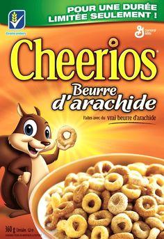 Coupon sur les Nouvelles Céréales Cheerios au Beurre d'arachide - Quebec echantillons gratuits