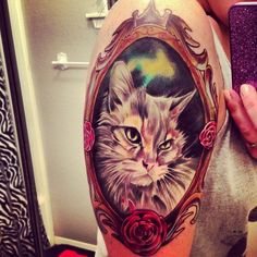 I am in love with this portrait :) It almost looks like my fat boy kitty!