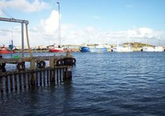 Der Hafen von Hvide Sande - Dänemark