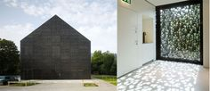 a:VZ: Cafetaria of the Wettingen School Extention by mlzd architects