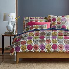 Courtyard Percale Duvet Cover   The Company Store
