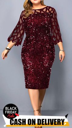 Plus Size Dresses online for sale Office Dresses For Women, Stylish Dresses, Clothes For Women, African Print Fashion, African Fashion Dresses, Lace Dress With Sleeves, The Dress, Como Fazer Short, Plus Size Black Dresses