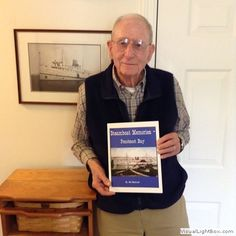 2016-04-05 Bayside's New Author, submitted by Bob Witherill, who has just had his book, Steamship Memories - Penobscot Bay, published. It's available at Hamilton Marine in Searsport and Left Bank Books and Nautical Scribe Books in Belfast, or you can contact Bob at bob@baysidemaine.com. Congratulations, Bob!