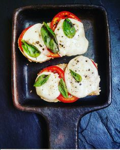 Caprese Melts | GIRL WITH A SPOON