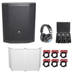 Jbl Pro Prx815xlfw 15 1500w Powered Subwoofer Facade Headphones 3 Microphones Powered Subwoofer Jbl Subwoofer