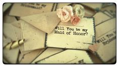 MINI Will You Be My Bridesmaid Invites, by TheRecycledRuffle, $3.75