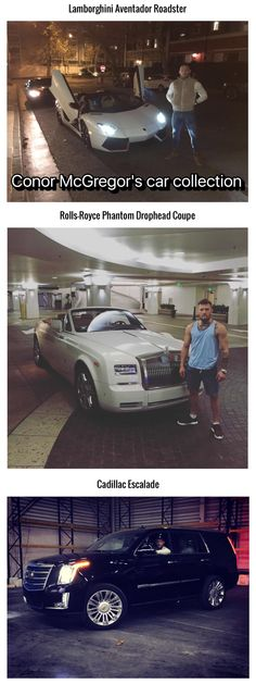Conor McGregor's car collection