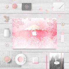 SUMMER EDITION - SAKURA   Turn your Macbook into a work of art! Each skin is made from premium quality vinyl and is precision cut for a perfect fit. Our skins are easily applied and removed using a patented removable adhesive that does not leave any sticky residue behind. They also feature high resolution print quality