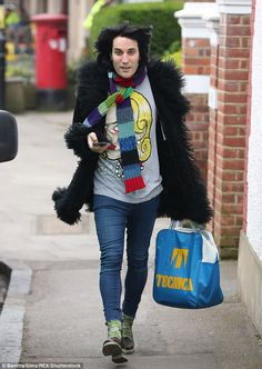 Image result for noel fielding fashion