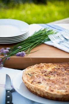 Home made quiche Quiche, Homemade, Food, Gourmet, Quiches, Home Made, Diy Crafts, Meals, Hand Made