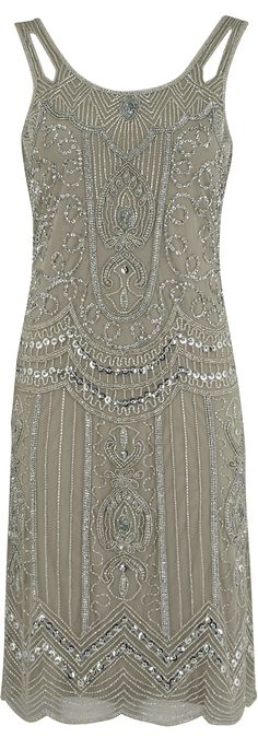Find out why this is pretty eccentric... haha... love the sage green color. Read updated article with new photos & more: http://www.boomerinas.com/2013/06/26/flapper-fashion-trend-for-parties-cruises-weddings/