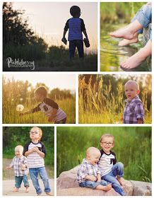 Siblings, brothers, toddler, 1 year old photo session in highlands ranch, Colorado at sunset. Golden hour photography