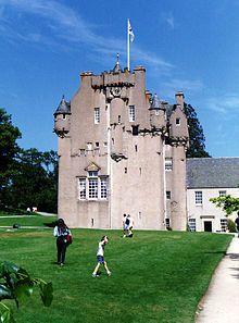 Crathes Castle - Wikipedia, the free encyclopedia-- belonged to the Burnett family (my ancestors)