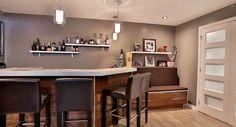 Coin bar Corner Desk, Bar, Table, Furniture, Home Decor, Homemade Home Decor, Corner Table, Tables, Home Furnishings