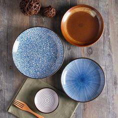 Keramik bemalen - Schauen Sie hier wie Sie diese Teller selber machen können!