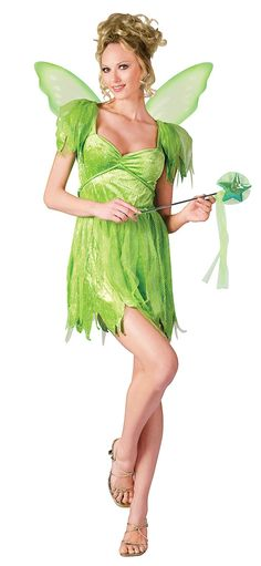 Neverland Tinkerbell Fairy Costume - Tinkerbell Costumes